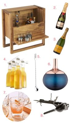Small Space Home Bar Gift Guide // stirandstrain.com