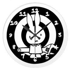 Handy Rabbit Clock