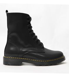 Dr. Martens, Leather Shoes, Combat Boots, Shopping, Women, Fashion, Leather Dress Shoes, Moda, Leather Boots