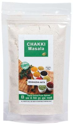 Buy Hand ground Singhara Atta online at ChakkiMasala.com. We offer hand-cleaned and hand-ground natural spices that add an ultimate taste to any recipe
