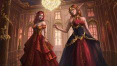 Alarianna and Leyloria [C] by SUOMAR on DeviantArt