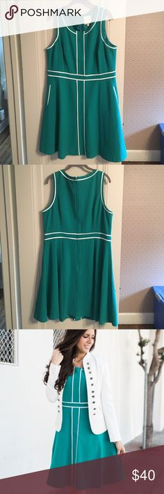 Modcloth green dress NWOT, never worn. Very flattering, I just have a dress hoarding problem 😬 Fits tts. Modcloth Dresses