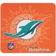 Miami Dolphins home decor is stocked at Fanatics. Display your spirit with officially licensed Miami Dolphins office supplies, home furnishings, and more from the ultimate sports store. Nfl Miami Dolphins, National Football League, Disney Characters, Sports, 3d, Wallpaper, Coasters, Orange, Check