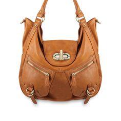 Melie Bianco Expandable Shoulder Bag from LittleBlackBag.com