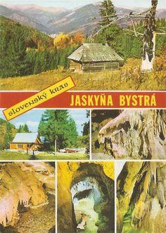 Slovenský Kras Places Of Interest, Bratislava, Prague, Postcards