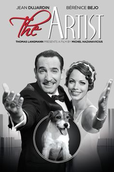 Hollywood George Valentin (Jean Dujardin) is a silent movie superstar. The advent of the talkies will sound the death knell for his ca. Jean Dujardin, Films Netflix, Good Movies On Netflix, Movies Online, The Artist Movie, Artist Film, Films Cinema, Cinema Posters, Movie Posters