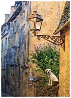 I stood guard - Sarlat-la-Caneda, Aquitaine