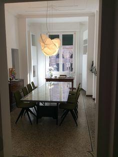 Abitazione privata, Casa Picasso, pavimentazione originiale in graniglia, Progetto Arch. Luca Braguglia