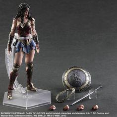 BvS Play Arts Kai Wonder Woman 008