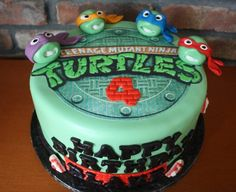 Image of: Ninja Turtles birthday cake ideas Ninja Turtle Birthday Cake, Ninja Turtle Cupcakes, Turtle Birthday Parties, Ninja Turtle Party, Ninja Turtles, Turtle Cakes, Birthday Ideas, 5th Birthday, Birthday Celebration