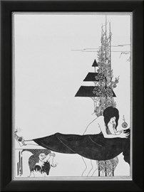 Aubrey Beardsley's Drawings Giclée-tryk af Aubrey Beardsley på AllPosters.dk