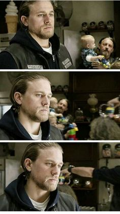 The king of Samcro- getting ready to turn himself in to save his wife