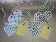 Spring/Easter Gift Tags 8 pack by LYHHandmadeGifts on Etsy Easter Gift, Gift Tags, I Shop, Gift Wrapping, Spring, Unique Jewelry, Handmade Gifts, Etsy, Gift Wrapping Paper
