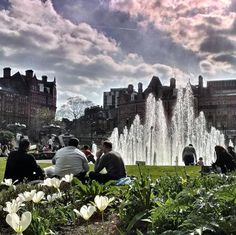 Bank Holiday Peace Gardens! (photo by @ apintinthehills on IG) #socialsheffield #sheffield Sheffield