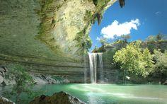 Hamilton Pool Near Austin By Dave Wilson