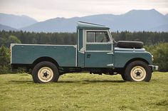 Land Rover 107 Serie One pickup Landrover Serie, Landrover Defender, Vw Bus, Adventure Car, Best 4x4, Panel Truck, Land Rover Defender 110, Expedition Vehicle, Car In The World