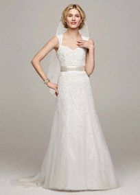 Lace Wedding Dresses - David's Bridal