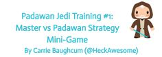 Padawan Jedi Trainin