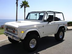 white early ford bronco - Google Search