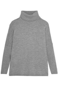 Allude - Wool Turtleneck Sweater - Dark gray -