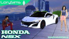 Honda NSX at LorySims • Sims 4 Updates