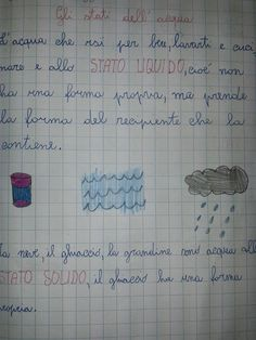 LA MAESTRA MARIA TI SALUTA: Quaderno di scienze classe 2^ Cool Science Experiments, Science Fair Projects, Free Activities, Quizzes, Lesson Plans, Fun Facts, Language, Bullet Journal, Math Equations