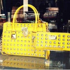 Yellow and studs