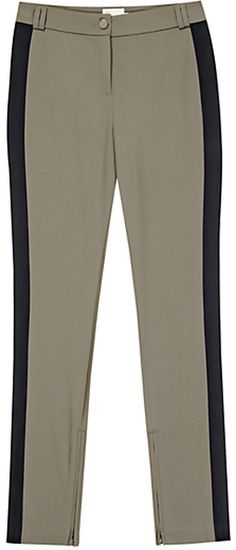 REISS ENGLAND Eve Panelled Trousers - Lyst
