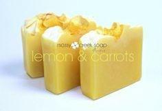 Carrot Lemon Soap
