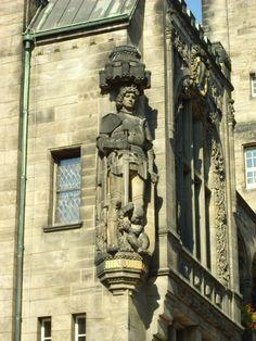 Chemnitzer Roland am neuem Rathaus