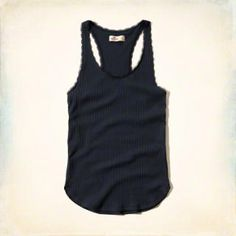 Must-Have Lace Trim Tank