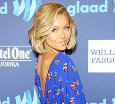 Kelly Ripa attends the VIP Red Carpet Suite hosted by Ketel One Vodka at the 26th Annual GLAAD Media Awards in New York on May 9, 2015 in New York City.