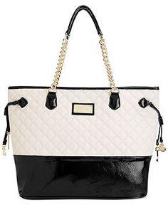 Betsey Johnson Chain Tote - Betsey Johnson - Handbags & Accessories - Macy's