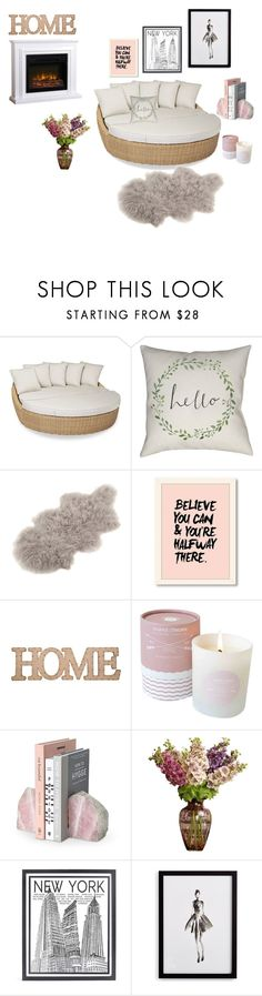 """Untitled #9"" by almedina-buljic ❤ liked on Polyvore featuring interior, interiors, interior design, home, home decor, interior decorating, Sunset West, Saro, Home Essentials and Stephenson"