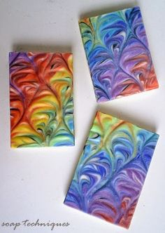 Soap Challenge DNA Helix Swirl Soap by Soap Techniques