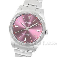ロレックス オイスターパーペチュアル39 レッドグレープ ランダム 114300 ROLEX 腕時計
