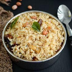 Simple & Easy to make Peanut rice (Vegan).