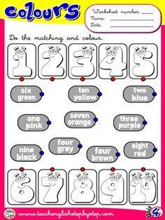 Colours - Worksheet 4