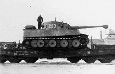 Tiger1 223 railroad transport