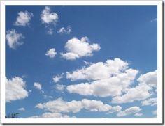 uma nuvem ensina-nos mais coisas que um milhão de homens