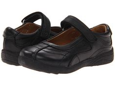Stride Rite Claire (Toddler/Little Kid/Big Kid) (Black) Girls Shoes Baby Girl Shoes, Girls Shoes, Kid Shoes, Toddler School Uniforms, Closed Toe Sandals, School Shoes, School Outfits, Black Girls, Black Shoes