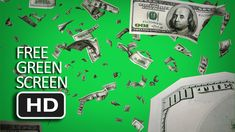 Free Green Screen - Falling Dollars Free Green Screen, Green Screen Backgrounds, Videos, Things To Sell, Movie Posters, Stuff Stuff, Movies, Film Poster, Billboard