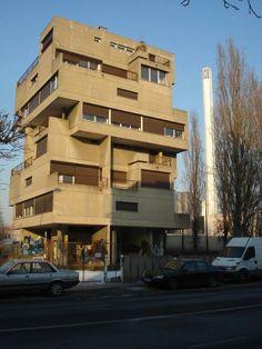 Ensemble de logements de fonction EDF, 54 boulevard du Colonel-Fabien, Ivry-sur-Seine (Val-de-Marne) by Atelier de Montrouge