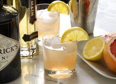 Pamplemousse Vieux Mot 2 ounces gin 1 ounce St. Germain 3 ounces fresh grapefruit juice 1/2 ounce fresh lemon juice 1/2 ounce simple syrup Lemon slice, for garnish Combine the liquids in a lowball glass, add ice, and stir. Garnish with a lemon slice.