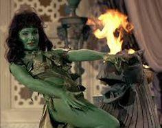Vina- Green Orion Slave Girl from Star Trek