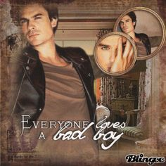 "{[""Everyone loves a bad boy""]}Ian Somerhalder by beatrice_andra"