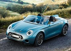 It's called the Superleggera Vision, and straight away, we should point out that it's not designed by Mini. It's a product of Touring Superleggera, whose other creations include the stunning Disco Volante. #mini #superleggera #shutupandtakemymoney