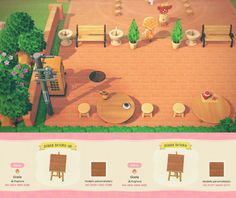 Animal Crossing Memes, Animal Crossing Qr Codes Clothes, Plaza Design, Ac New Leaf, Brick Path, Island Design, Animal Paintings, Paths, The Creator
