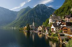 Hallstatt, Upper Austria, is a village in the Salzkammergut, a region in Austria with 946 inhabitants.