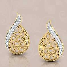 EAR RiNGS' can rise the Beauty of your Delicate Ears. See More Collection On : https://www.caratlane.com/jewellery/earrings.html